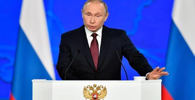 Putin vows asymmetrical reply to US missiles in Europe
