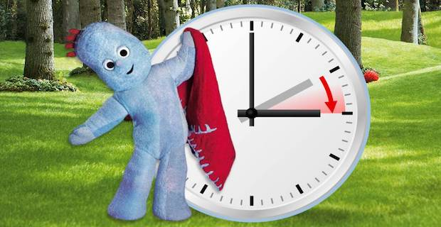 It's that time of year again when we move the clocks forwards.