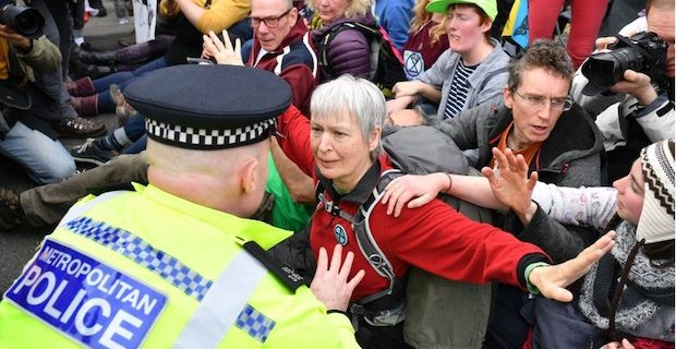London climate protests, Police make nearly 300 arrests