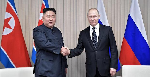 Russian, North Korean leaders meet in Vladivostok