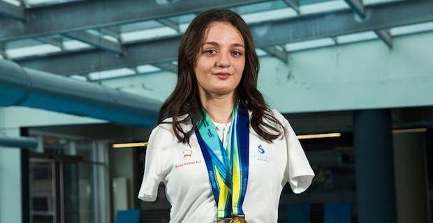 Turkish Paralympic swimmer wins gold in US