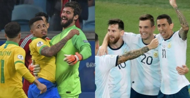 An early final in Copa America: Brazil vs Argentina