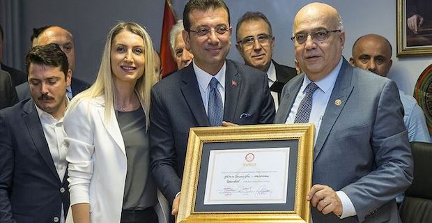 Ekrem Imamoglu becomes Istanbul mayor after rerun polls