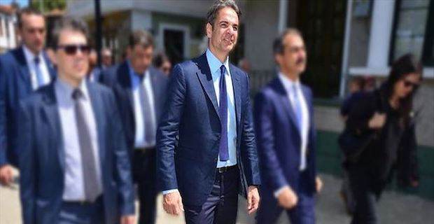 Greek premier visits Greek Cypriot administration