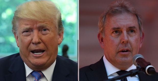 Trump slams UK envoy over leaked insults