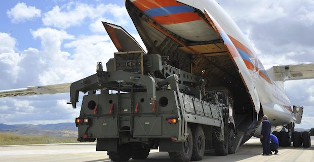 Turkey continues to receive Russian S-400 components