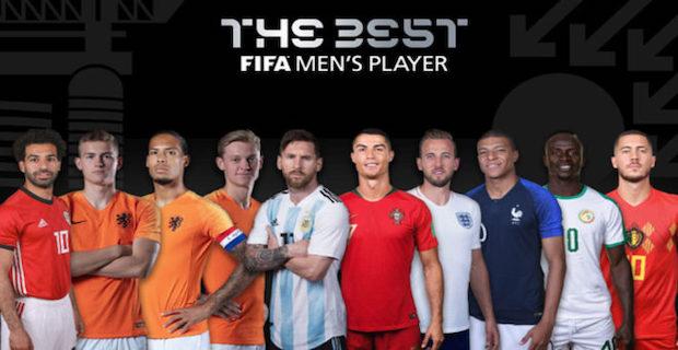FIFA announces Best Men's Player nominees list for 2019