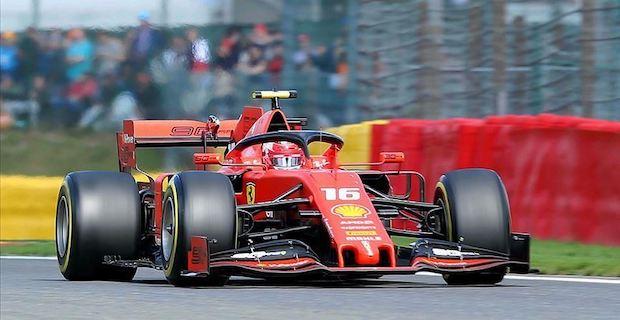Formula 1, Ferrari driver Leclerc wins in Belgium