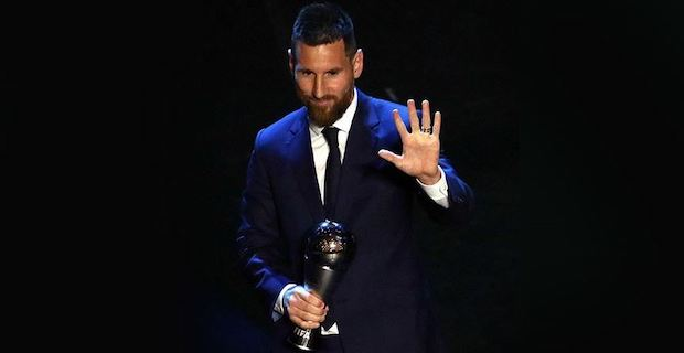 Lionel Messi wins Best FIFA Men's Player award