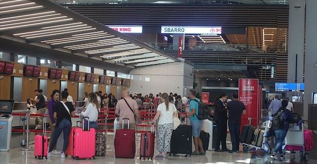 Passengers traveling through Istanbul Airport hit 30M