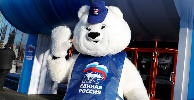 Russia's ruling party hit badly in Moscow election