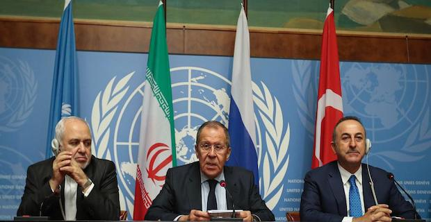 Turkey, Russia, Iran issue joint statement on Syria