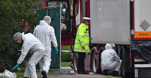 UK Police: 39 truck death victims were Chinese