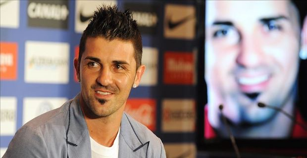 Former Spain star Villa to retire at end of season