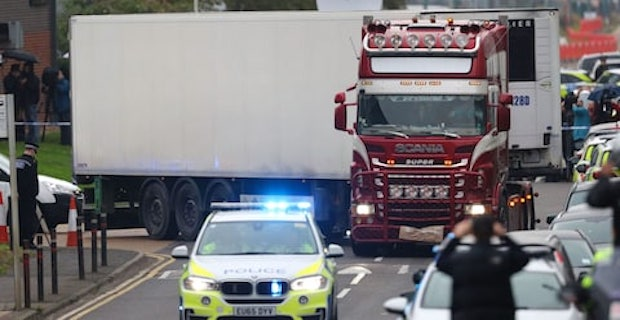 Lorry driver admits plot after 39 migrant deaths