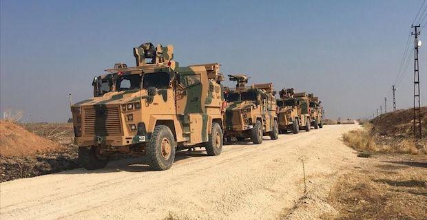 Turkey, Russia start joint ground patrols in N.Syria