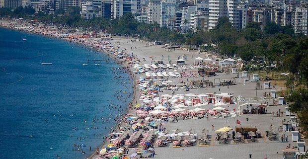 Turkey sees 14.5% surge in number of foreign visitors