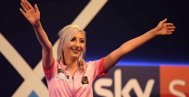 Sherrock becomes 1st woman to beat a man at World Darts
