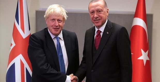 Turkey, UK discuss bilateral, regional issues
