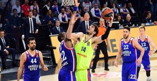 Basketball: Anadolu Efes face Barcelona in EuroLeague