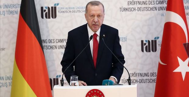 Erdogan: Turkish-German University symbol of friendship