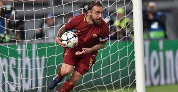 Football: Daniele De Rossi hangs up his cleats