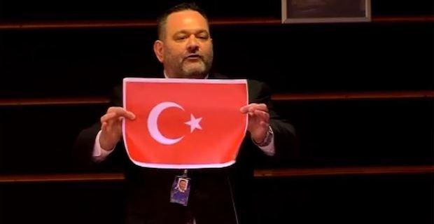 Turkey: Greek MEP who ripped Turkish flag to face probe