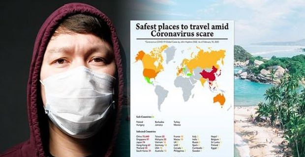 Coronavirus: Safest places to travel on holiday amid Coronavirus scare