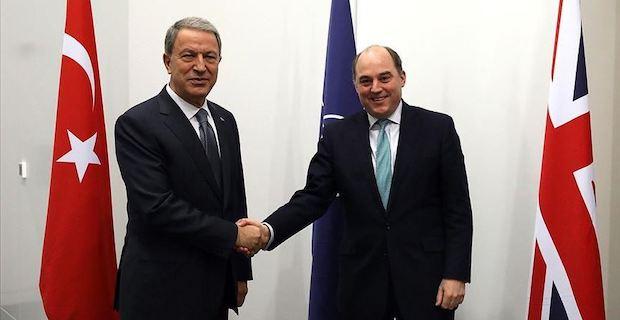 Turkish, UK defense chiefs discuss Idlib, Syria