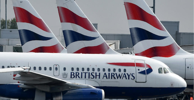British Airways cancels all flights to and from Italy