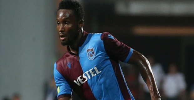Football: Trabzonspor part ways with John Obi Mikel