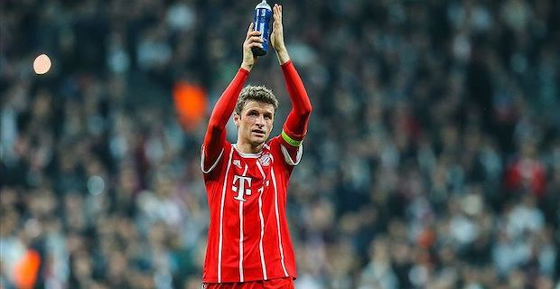 Thomas Muller extends contract with Bayern until 2023
