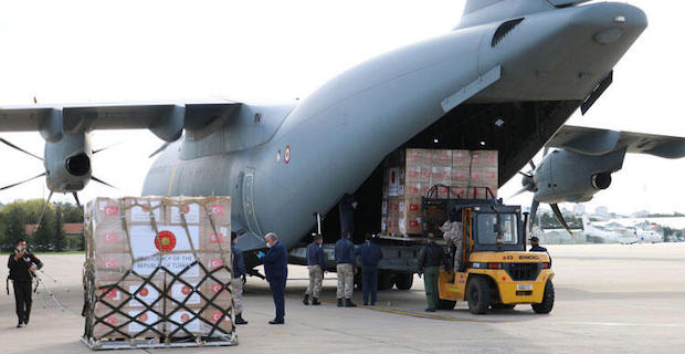 Turkey delivers medical aid to Balkans to fight virus