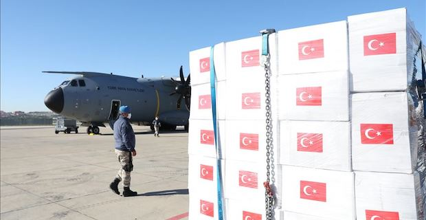 Turkey has helped 80 countries battle coronavirus