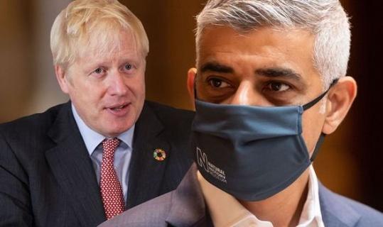 Johnson and Khan clash over TfL bankruptcy, Khan called Johnson a liar