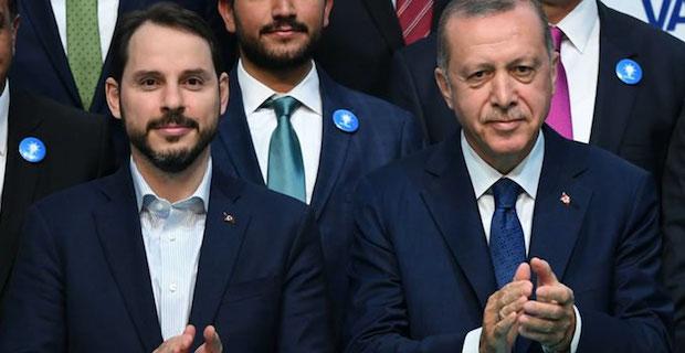 Turkish president accepts resignation of treasury minister