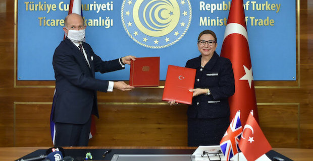 Free trade deal eases Turkey-UK trade target of $20B