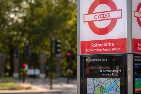 Santander Cycles welcomes record new users during its tenth anniversary year