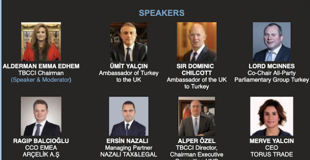 Discussions on the new bilateral opportunities in trade and investment arising from the UK Turkey