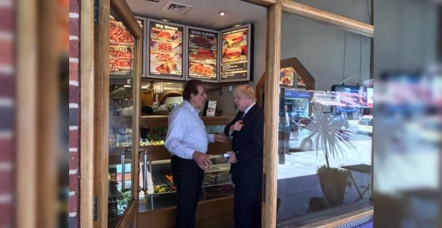 Boris Johnson reveals his favourite 'healthy' takeaway Is Turkish Kebab