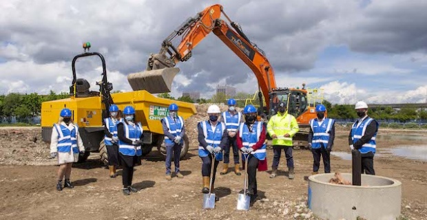 Milestone reached as first homes set to be constructed on Meridian Water