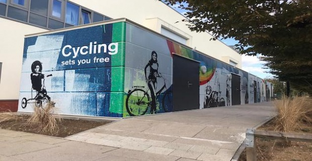 Hospital cycle hub supporting keyworkers journeys