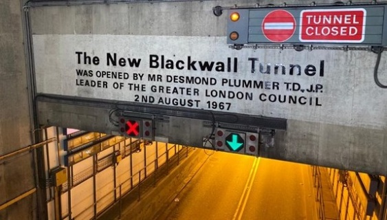 Safety critical repairs to the southbound Blackwall Tunnel in July