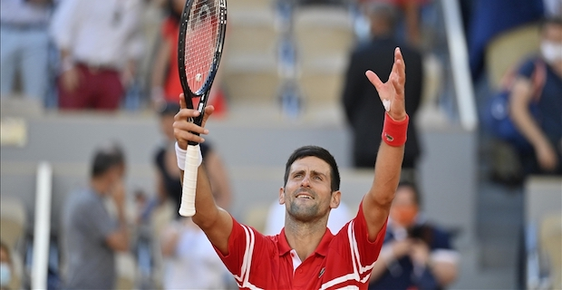 World No.1 Djokovic bags second French Open title