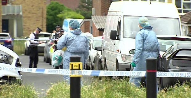 A 15-year-old boy has been arrested after a teenager was stabbed to death at a house in south London.