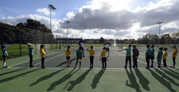 A host of improvements are being served for tennis enthusiasts in Enfield