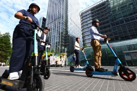 The City of London, Lambeth and Southwark to join London's rental e-scooter trial from today
