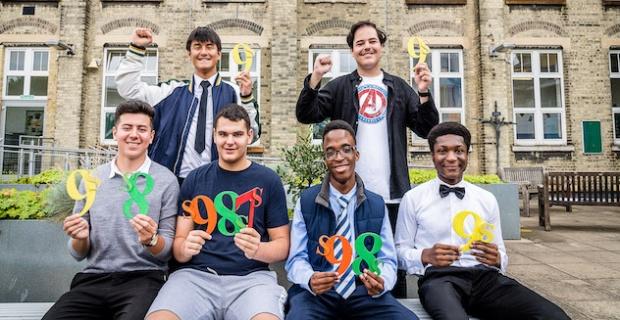Joy for Islington pupils as they celebrate GCSE successes