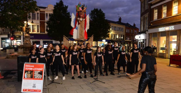 Enfield is the only North London destination for Totem Latamat which is being displayed