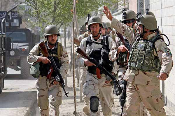 Afghan Taliban attack central Kabul